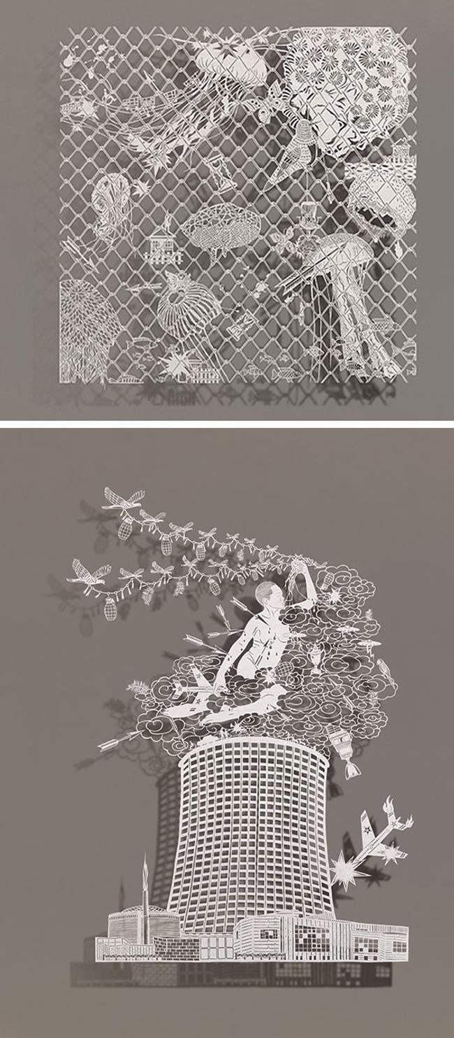 Arte em Papel - Bovey Lee